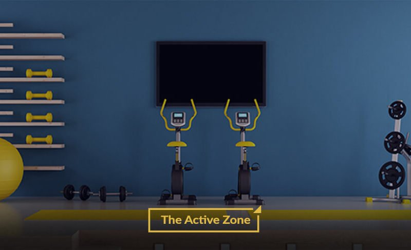 Home Gym Area Interior Designs