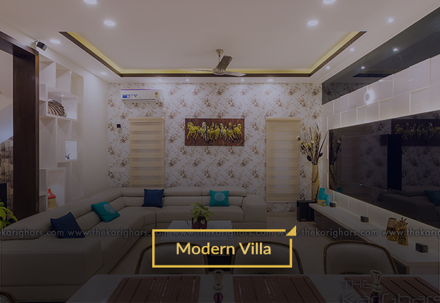 Modern Villa - Adarsh Palm Retreat