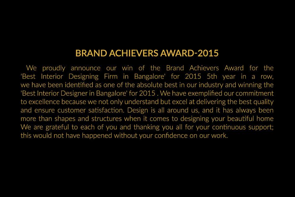 Brand Achievers Awards 2015