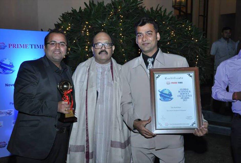 Sri Amar Singh, Global Business & Service Excellence Awards 2013