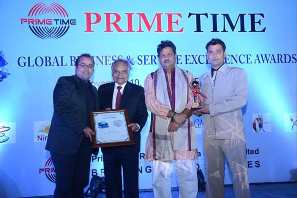 Shri Kirti Jha Azad, Global Business & Service Excellence Awards 2013